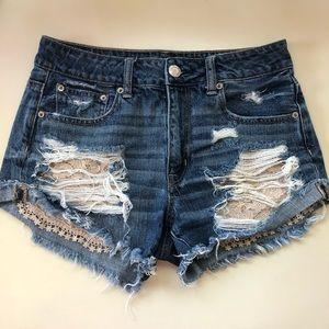 American eagle denim Jean shorts